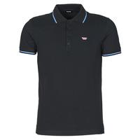 衣服 男士 短袖保罗衫 Diesel 迪赛尔 00SW7C-0MXZA-900 黑色