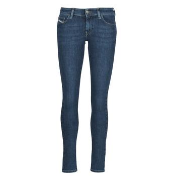 衣服 女士 牛仔铅笔裤 Diesel 迪赛尔 SLANDY-LOW 蓝色 / Edium
