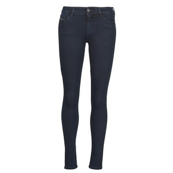 衣服 女士 牛仔铅笔裤 Diesel 迪赛尔 SLANDY 蓝色 / Fonce