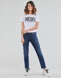 衣服 女士 直筒牛仔裤 Diesel 迪赛尔 D-JOY 蓝色 / Edium