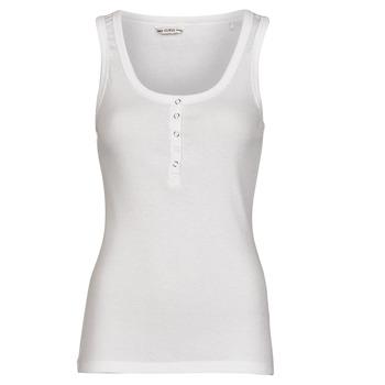 衣服 女士 无领短袖套衫/无袖T恤 Guess MILENA TANK TOP 白色