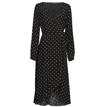 衣服 女士 长裙 Guess NEW BAJA DRESS 黑色