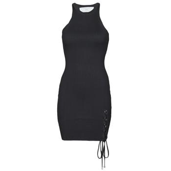衣服 女士 短裙 Guess ALEXA TIE DRESS 黑色