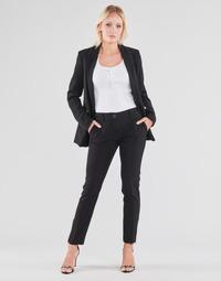衣服 女士 多口袋裤子 Guess ZOE PANTS 黑色
