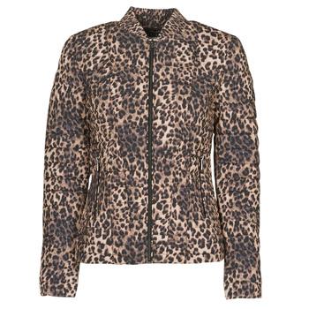 衣服 女士 羽绒服 Guess VERA JACKET Leopard