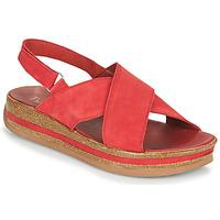 鞋子 女士 凉鞋 Think ZEGA 红色