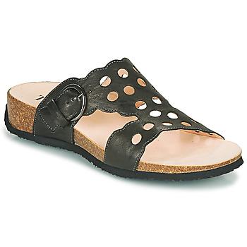 鞋子 女士 休闲凉拖/沙滩鞋 Think MIZZI 黑色