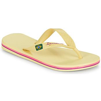 鞋子 儿童 人字拖 Ipanema 依帕内玛 IPANEMA CLAS BRASIL II KIDS 黄色