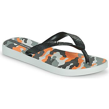 鞋子 儿童 人字拖 Ipanema 依帕内玛 IPANEMA CLASSIC IX KIDS 灰色 / 黑色 / 橙色