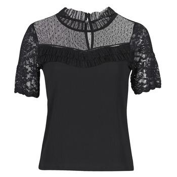 衣服 女士 短袖体恤 Morgan DANY 黑色
