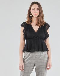 衣服 女士 女士上衣/罩衫 Morgan DARLEY 黑色