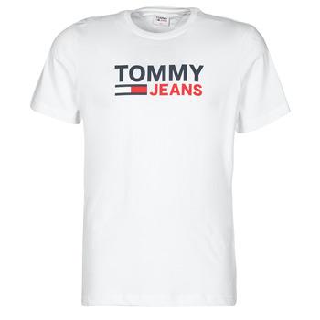 衣服 男士 短袖体恤 Tommy Jeans TJM CORP LOGO TEE 白色