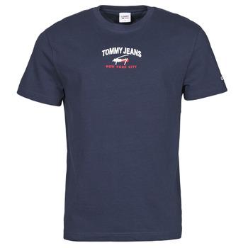 衣服 男士 短袖体恤 Tommy Jeans TJM TIMELESS TOMMY SCRIPT TEE 海蓝色