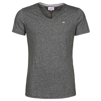 衣服 男士 短袖体恤 Tommy Jeans TJM SLIM JASPE V NECK 黑色