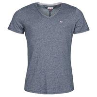 衣服 男士 短袖体恤 Tommy Jeans TJM SLIM JASPE V NECK 海蓝色