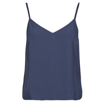 衣服 女士 女士上衣/罩衫 Tommy Jeans TJW CAMI TOP 海蓝色