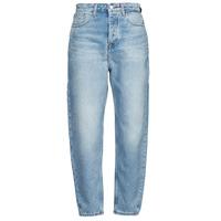 衣服 女士 女士Boyfriend牛仔裤 Tommy Jeans MOM JEAN ULTRA HR TPRD EMF SPLBR 蓝色 / 米色