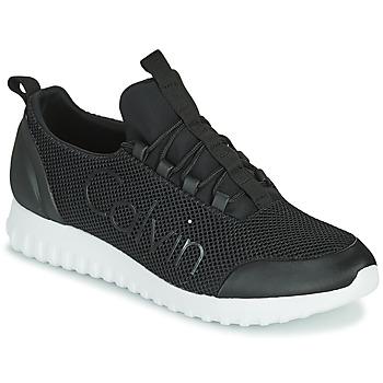 鞋子 男士 球鞋基本款 Calvin Klein Jeans RUNNER SNEAKER LACEUP MESH 黑色