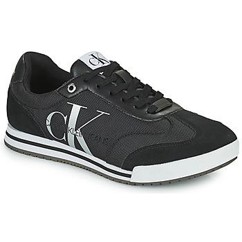 鞋子 男士 球鞋基本款 Calvin Klein Jeans LOW PROFILE SNEAKER LACEUP PES 黑色
