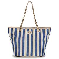 包 女士 购物袋 Liu Jo SICURA XL TOTE 米色 / 蓝色