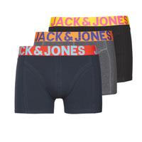 内衣  男士 拳击 Jack & Jones 杰克琼斯 JACCRAZY X3 黑色 / 蓝色 / 灰色