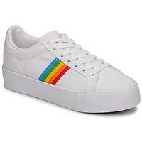 鞋子 女士 球鞋基本款 Gola ORCHID PLATEFORM RAINBOW 白色 / Multi