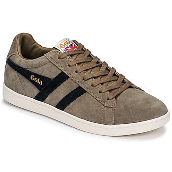 鞋子 男士 球鞋基本款 Gola EQUIPE SUEDE 米色 / 海蓝色