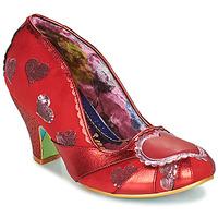 鞋子 女士 高跟鞋 Irregular Choice HEART ON YOUR SLEEVE 红色