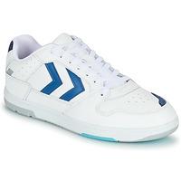 鞋子 男士 球鞋基本款 Hummel POWER PLAY 白色 / 蓝色