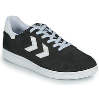 鞋子 男士 球鞋基本款 Hummel VICTORY 黑色