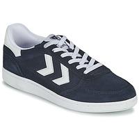 鞋子 男士 球鞋基本款 Hummel VICTORY 蓝色