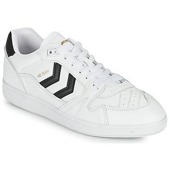 鞋子 男士 球鞋基本款 Hummel HB TEAM 白色 / 黑色