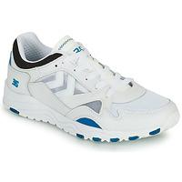 鞋子 男士 球鞋基本款 Hummel EDMONTON 3S LEATHER 蓝色