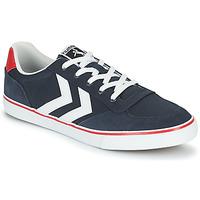 鞋子 男士 球鞋基本款 Hummel STADIL LOW OGC 3.0 蓝色