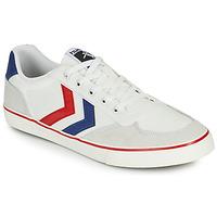 鞋子 男士 球鞋基本款 Hummel STADIL LOW OGC 3.0 白色 / 蓝色 / 红色