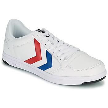 鞋子 男士 球鞋基本款 Hummel STADIL LIGHT 白色 / 蓝色 / 红色
