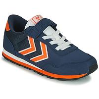 鞋子 儿童 球鞋基本款 Hummel REFLEX JR 蓝色
