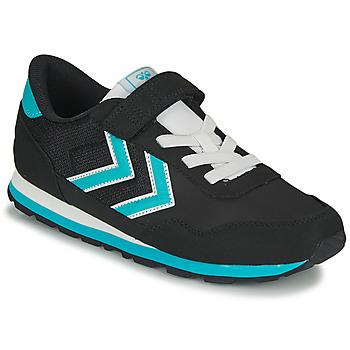 鞋子 儿童 球鞋基本款 Hummel REFLEX JR 黑色