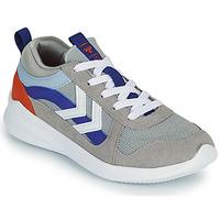 鞋子 儿童 球鞋基本款 Hummel BOUNCE JR 灰色 / 蓝色