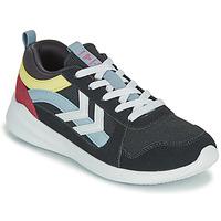 鞋子 儿童 球鞋基本款 Hummel BOUNCE JR 灰色