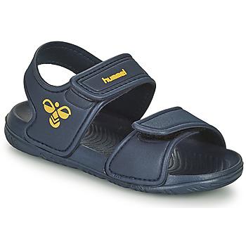 鞋子 儿童 运动凉鞋 Hummel PLAYA JR 蓝色
