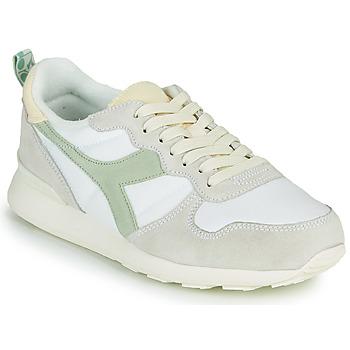 鞋子 女士 球鞋基本款 Diadora 迪亚多纳 CAMARO ICONA WN 白色 / 绿色