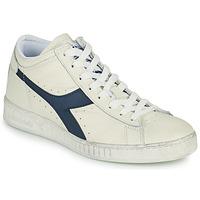 鞋子 高帮鞋 Diadora 迪亚多纳 GAME L WAXED ROW CUT 白色 / 蓝色