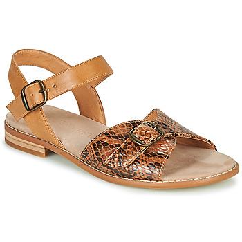 鞋子 女士 凉鞋 KARSTON XABERO 驼色 / Python