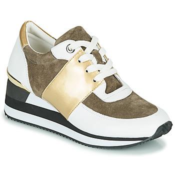 鞋子 女士 球鞋基本款 KARSTON SILMON 白色 / 金色