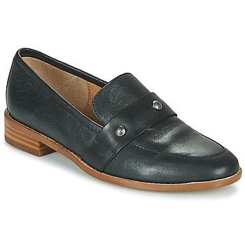 鞋子 女士 皮便鞋 KARSTON GINESS 黑色