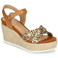 鞋子 女士 凉鞋 KARSTON LABON 棕色 / 金色