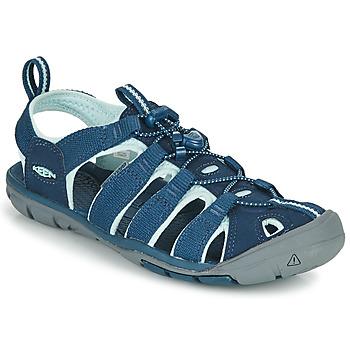 鞋子 女士 运动凉鞋 Keen CLEARWATER CNX 蓝色