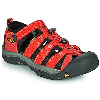 鞋子 儿童 运动凉鞋 Keen NEWPORT H2 红色
