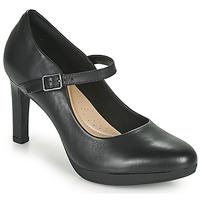 鞋子 女士 高跟鞋 Clarks 其乐 AMBYR SHINE 黑色